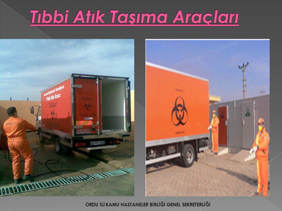 Tıbbi Atık Taşıma Araçları