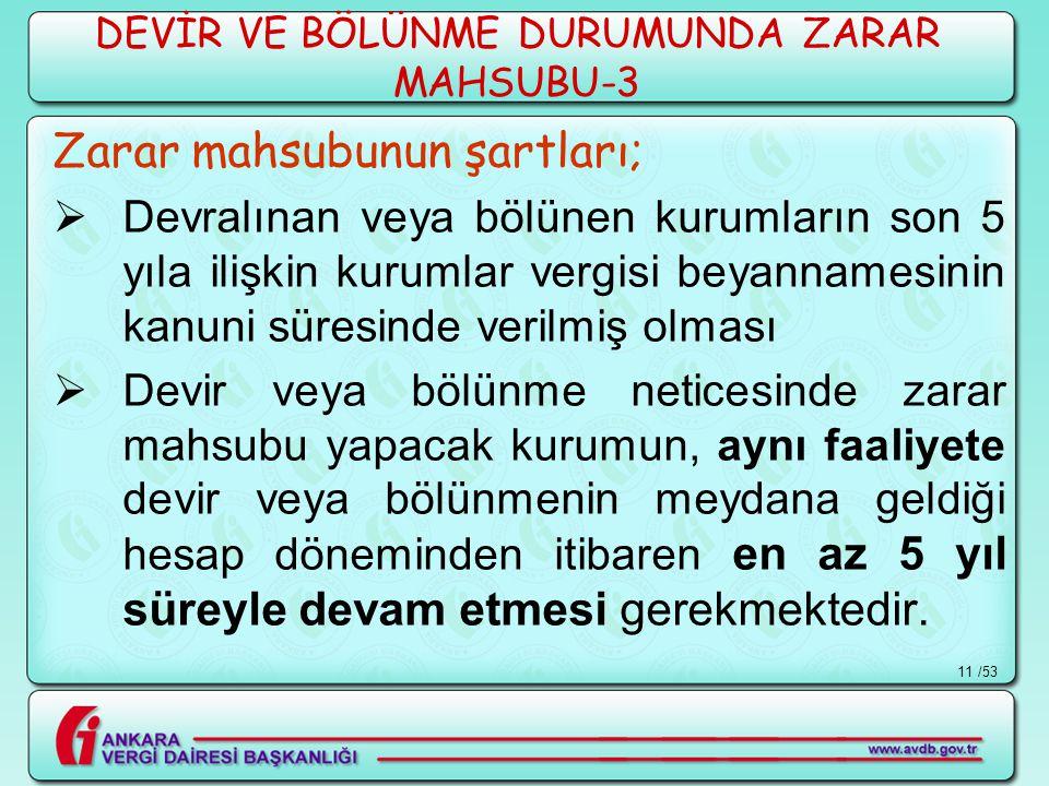 DEVİR VE BÖLÜNME DURUMUNDA ZARAR MAHSUBU-3