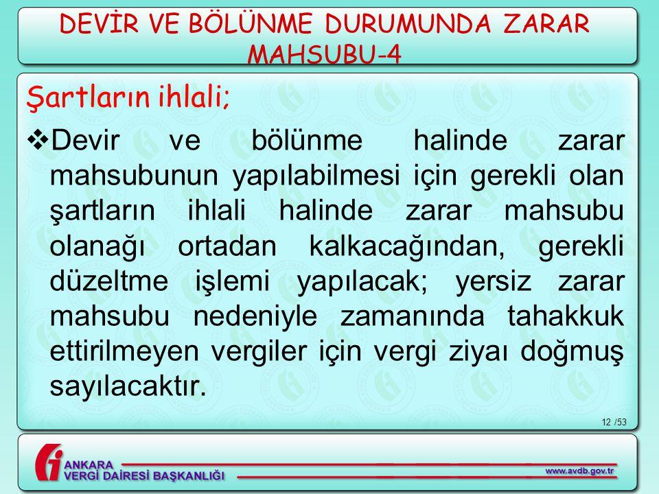 DEVİR VE BÖLÜNME DURUMUNDA ZARAR MAHSUBU-4