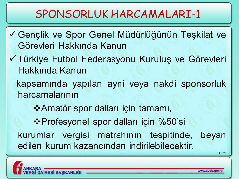 SPONSORLUK HARCAMALARI-1