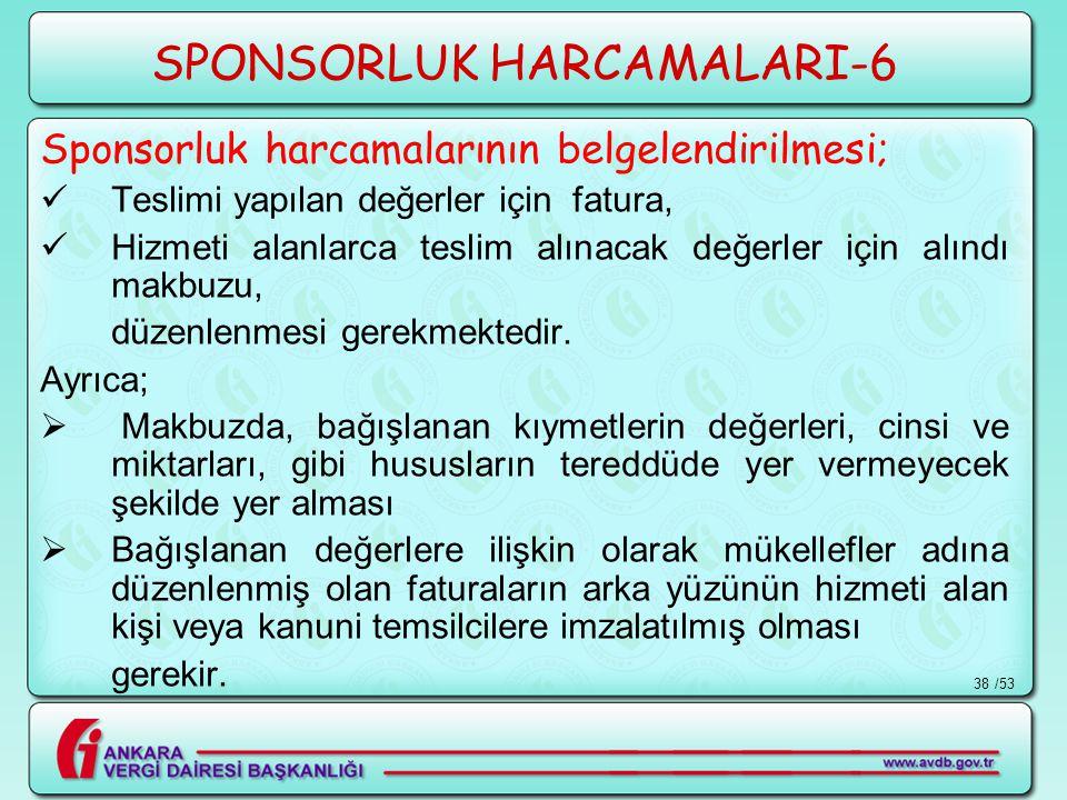SPONSORLUK HARCAMALARI-6