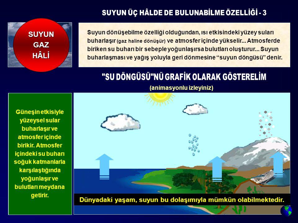SUYUN ÜÇ HÂLDE DE BULUNABİLME ÖZELLİĞİ - 3