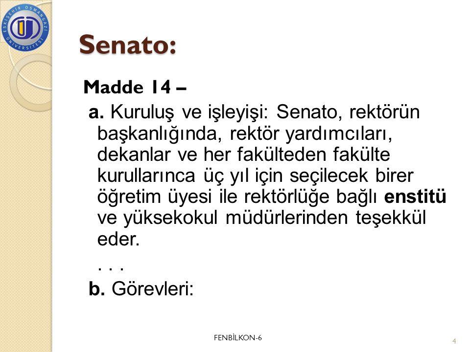 Senato: