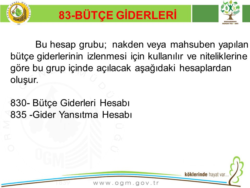 83-BÜTÇE GİDERLERİ Kurumsal Kimlik. 16/12/2010.