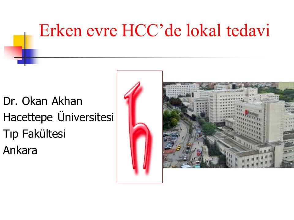 Erken evre HCC'de lokal tedavi