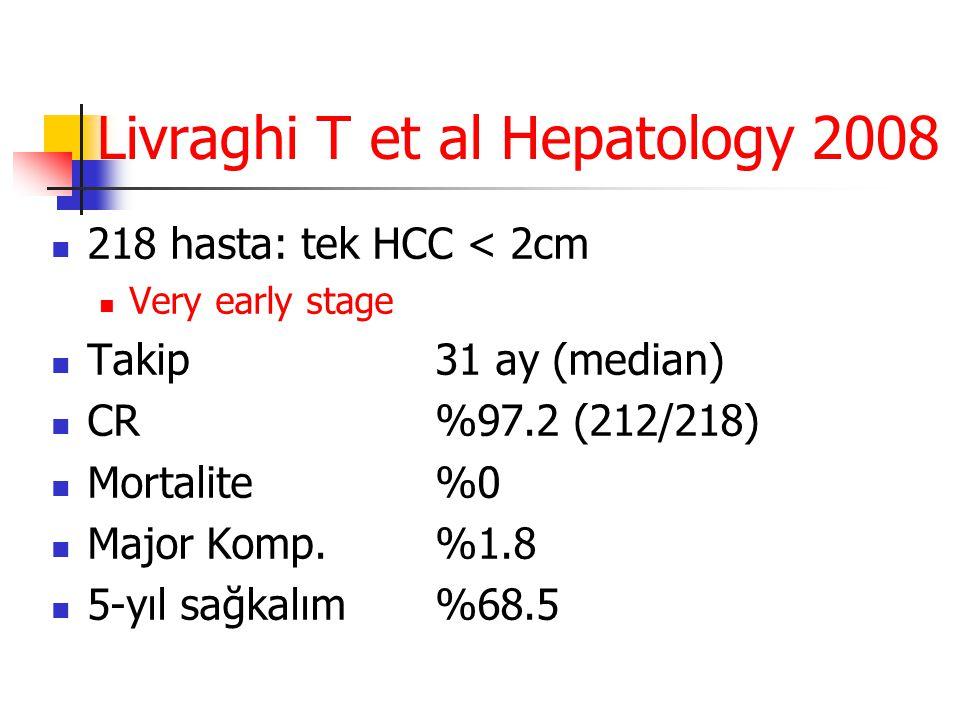 Livraghi T et al Hepatology 2008