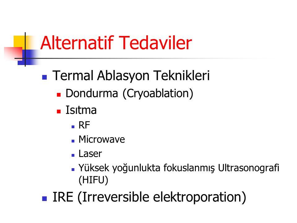 Alternatif Tedaviler Termal Ablasyon Teknikleri