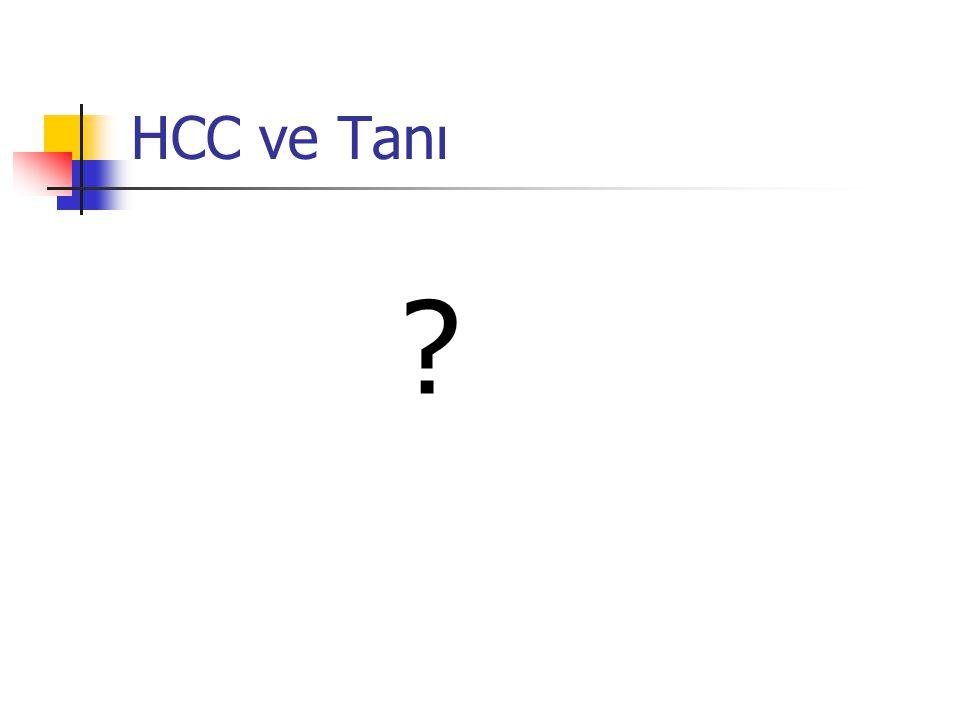 HCC ve Tanı