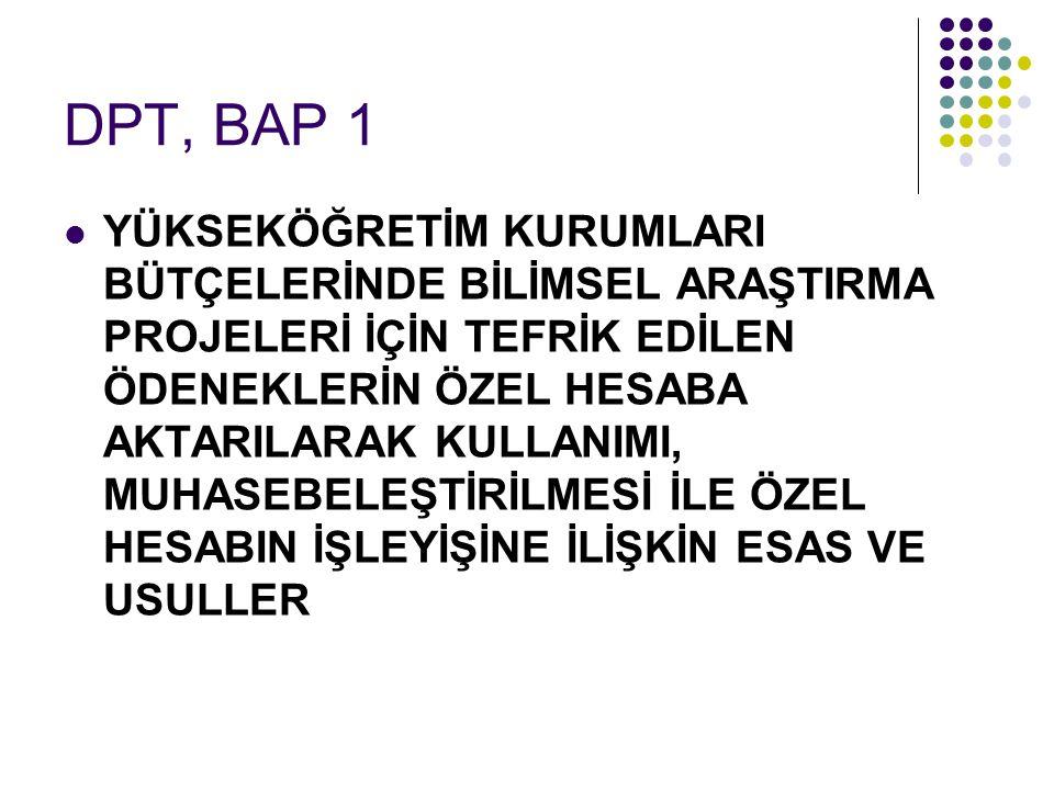 DPT, BAP 1
