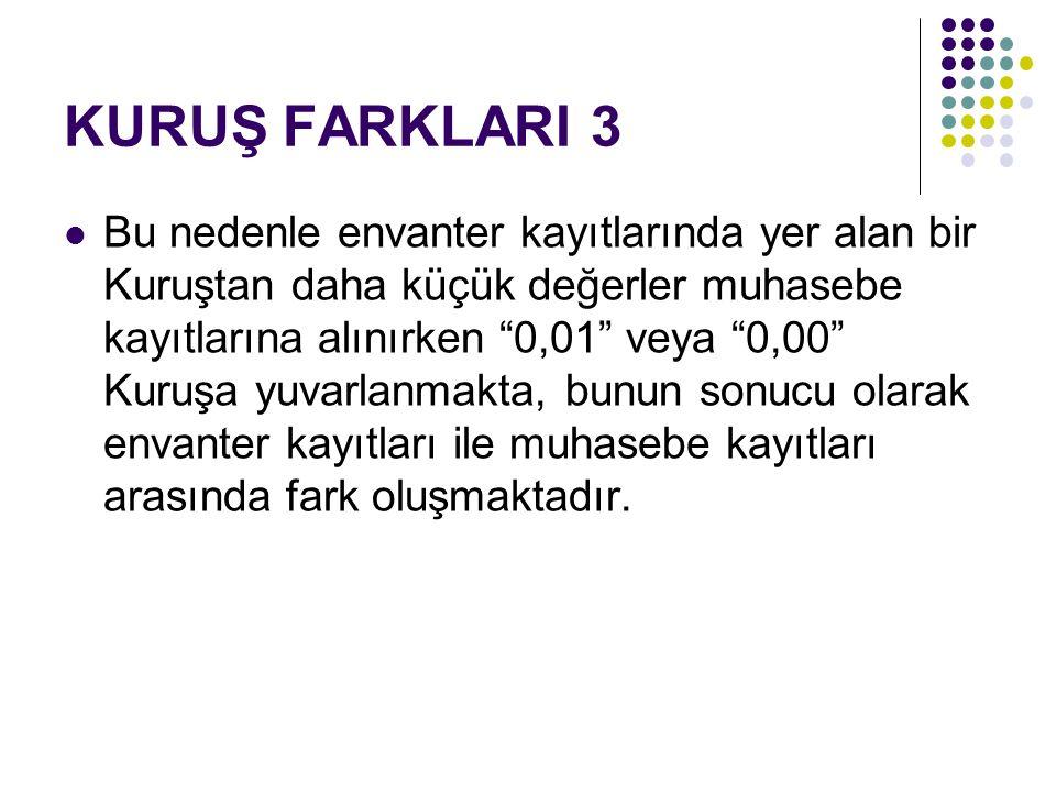 KURUŞ FARKLARI 3