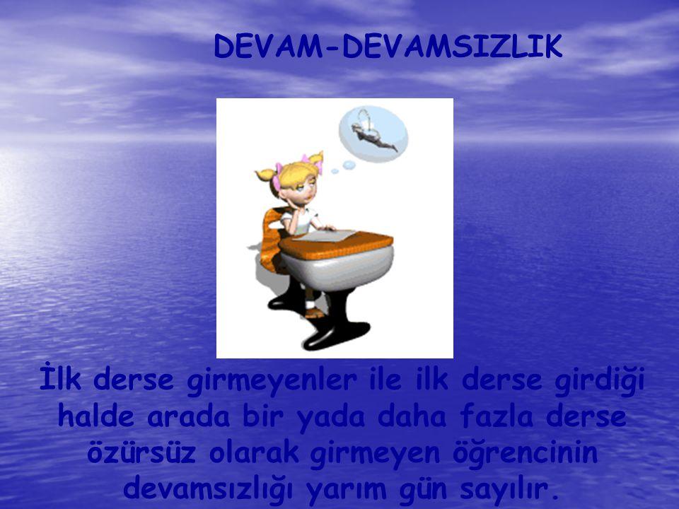 DEVAM-DEVAMSIZLIK