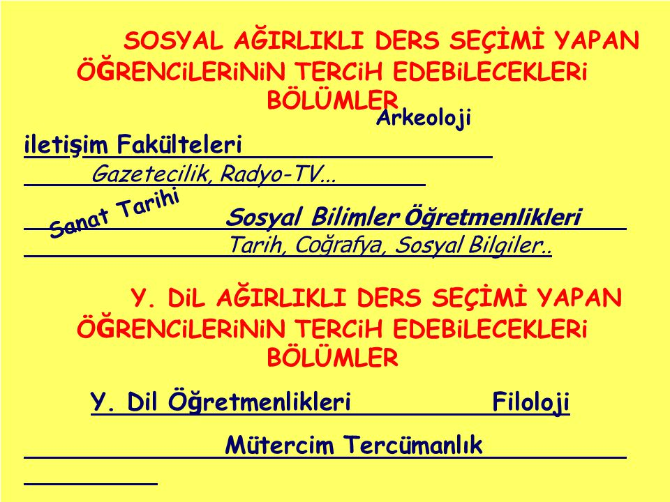 iletişim Fakülteleri Gazetecilik, Radyo-TV...