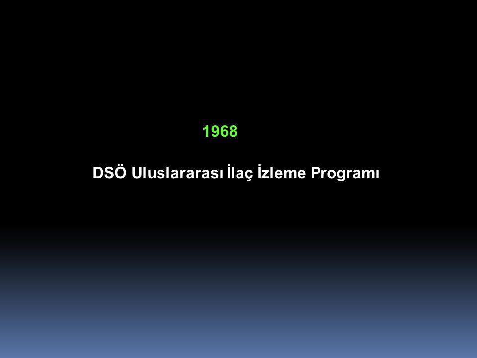 DSÖ Uluslararası İlaç İzleme Programı