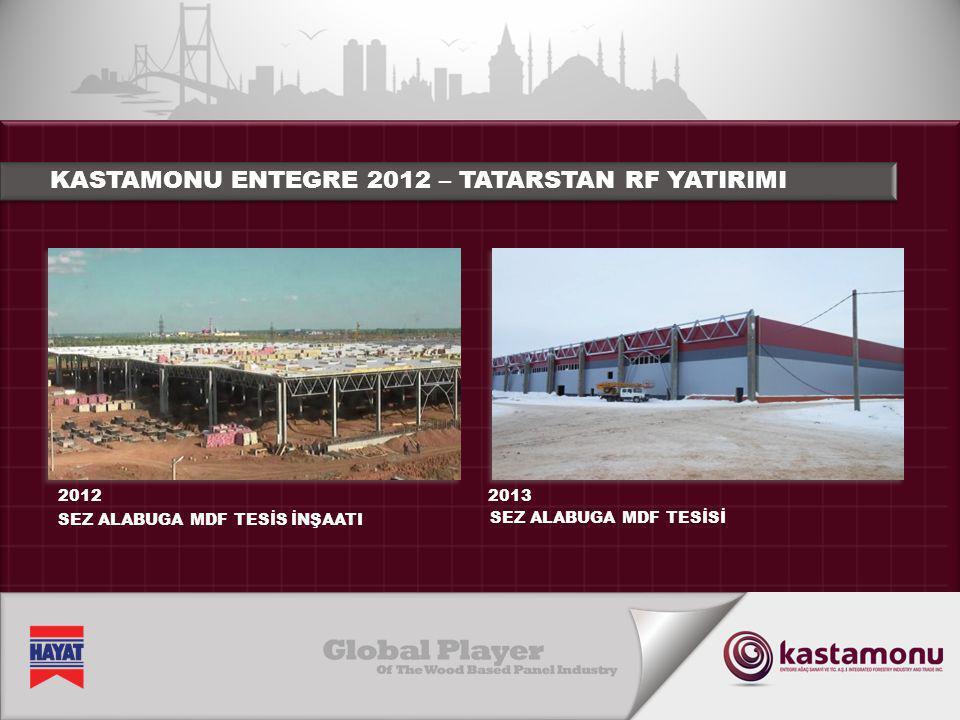 KASTAMONU ENTEGRE 2012 – TATARSTAN RF YATIRIMI