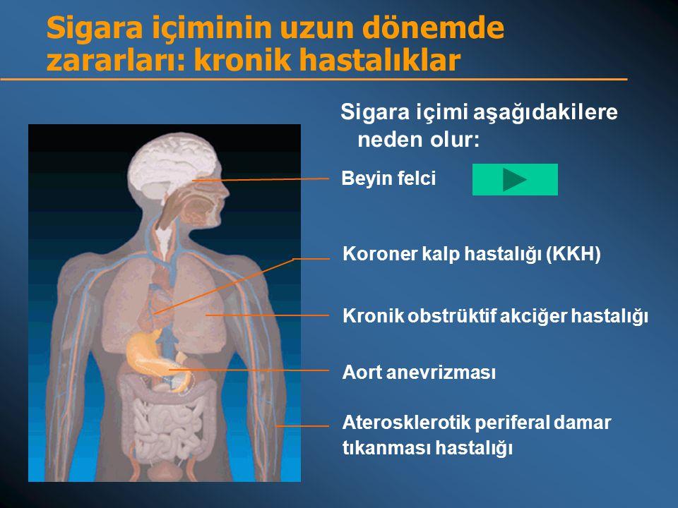 Sigara içiminin uzun dönemde zararları: kronik hastalıklar