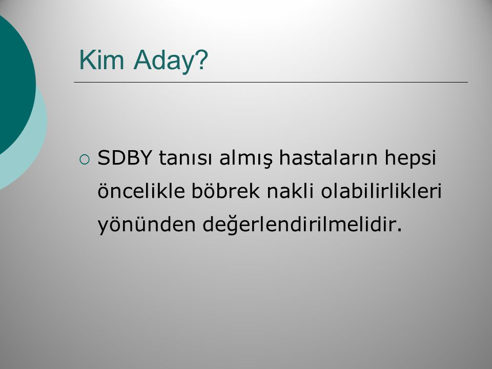 Kim Aday.
