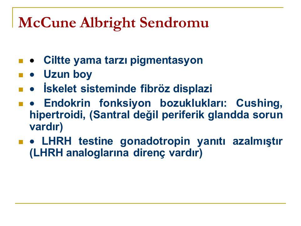 McCune Albright Sendromu