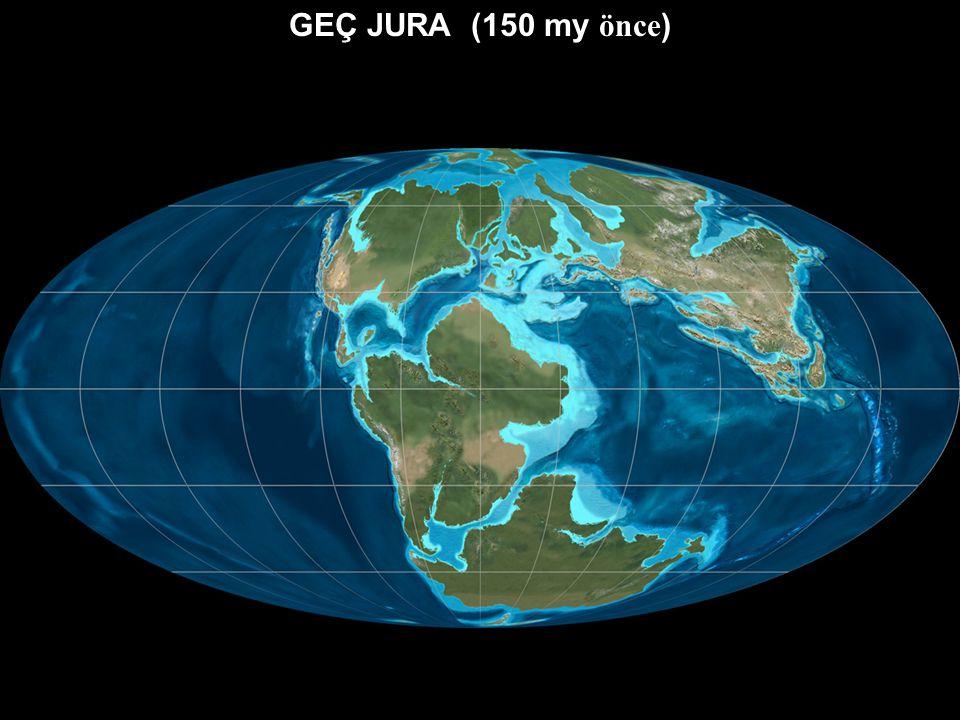 GEÇ JURA (150 my önce)