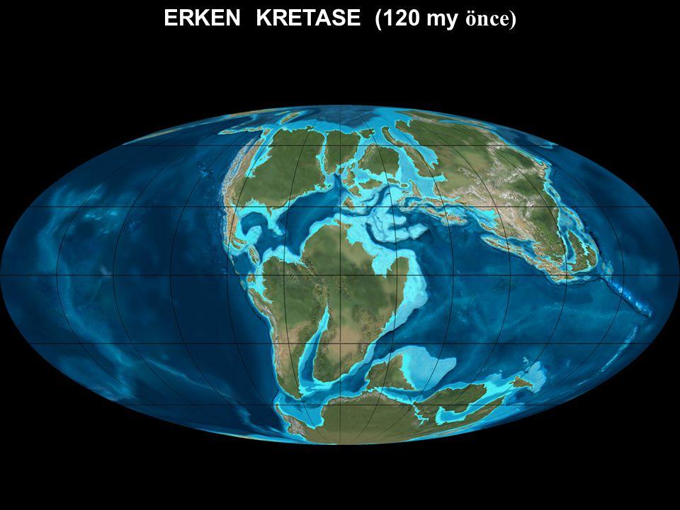 ERKEN KRETASE (120 my önce)