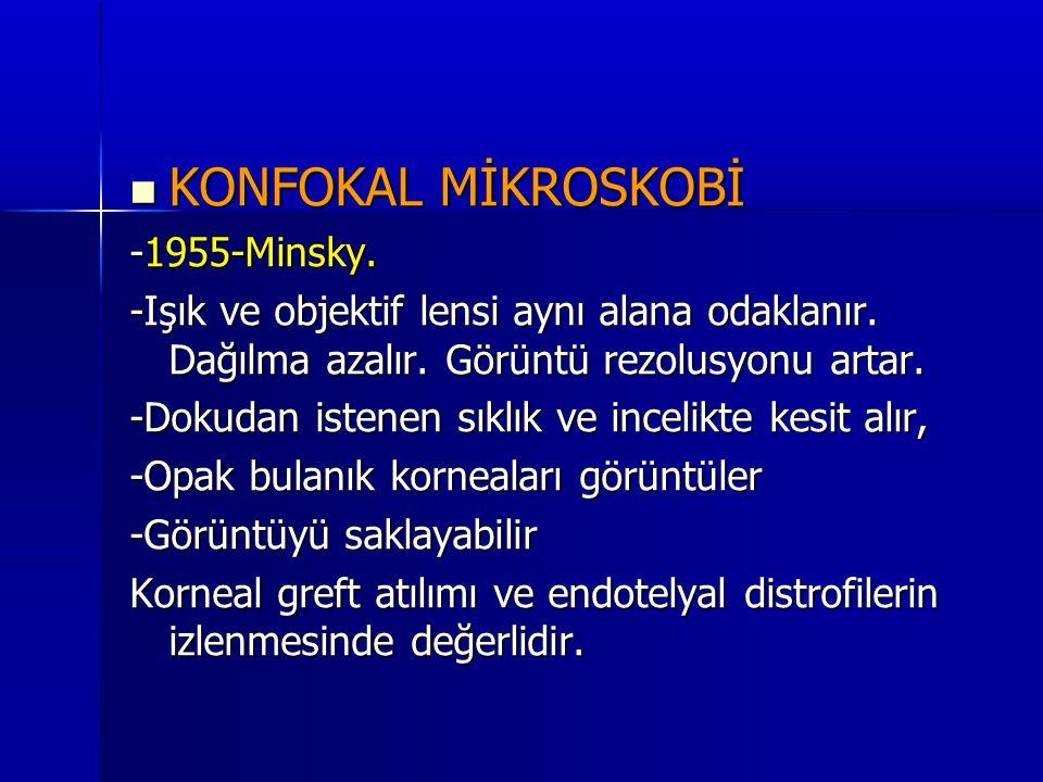 KONFOKAL MİKROSKOBİ -1955-Minsky.