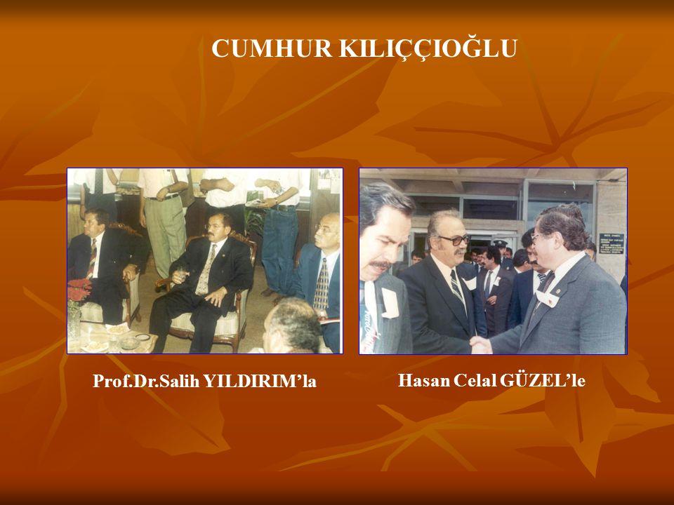 Prof.Dr.Salih YILDIRIM'la
