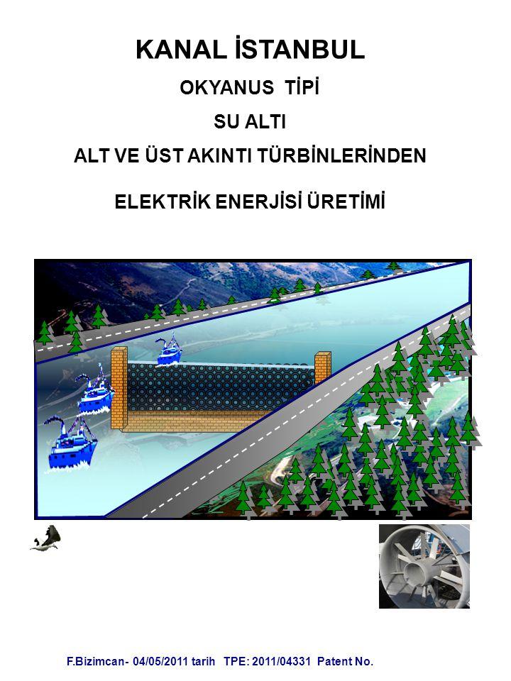 ALT VE ÜST AKINTI TÜRBİNLERİNDEN ELEKTRİK ENERJİSİ ÜRETİMİ