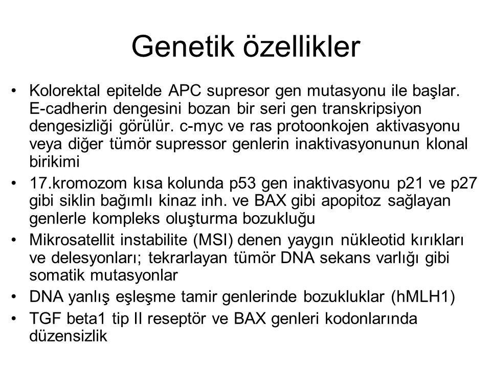 Genetik özellikler