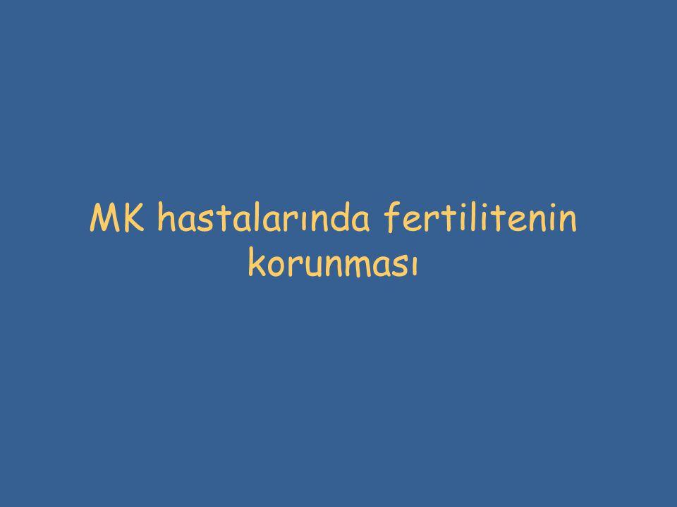 MK hastalarında fertilitenin korunması