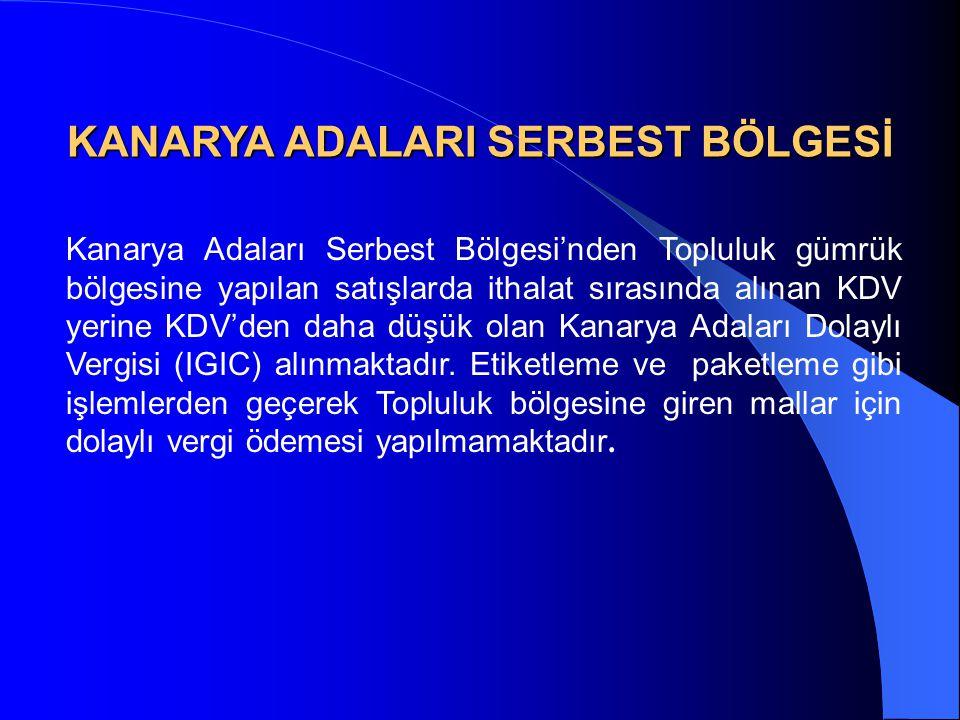 KANARYA ADALARI SERBEST BÖLGESİ