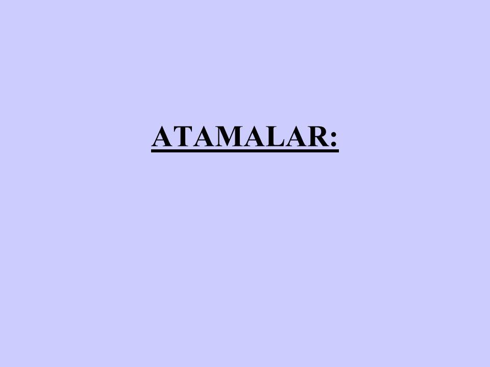 ATAMALAR: