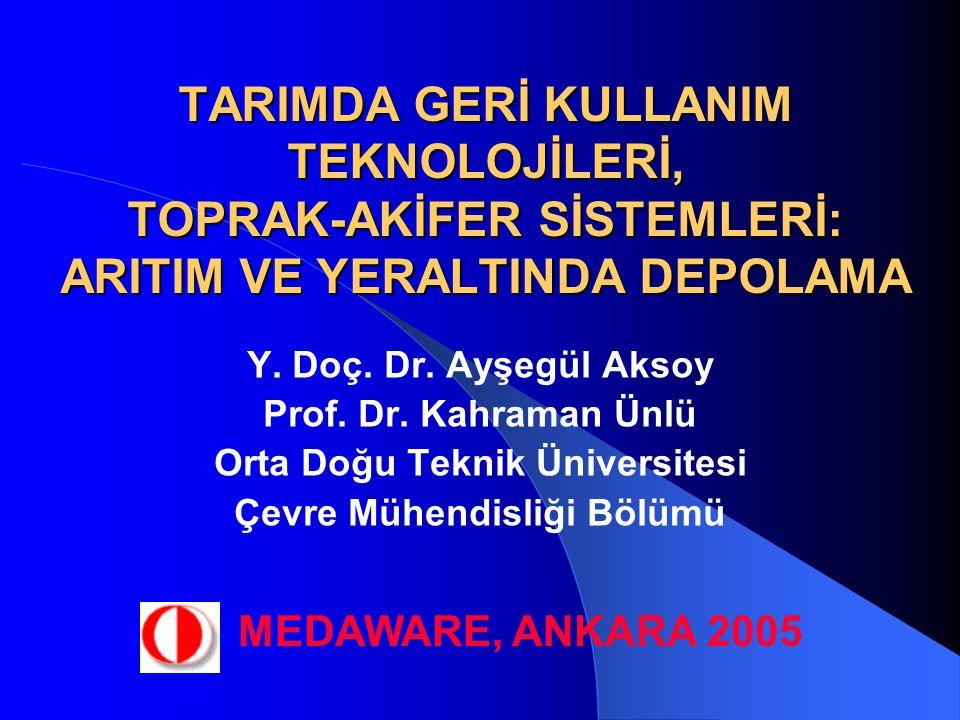 Orta Doğu Teknik Üniversitesi Çevre Mühendisliği Bölümü