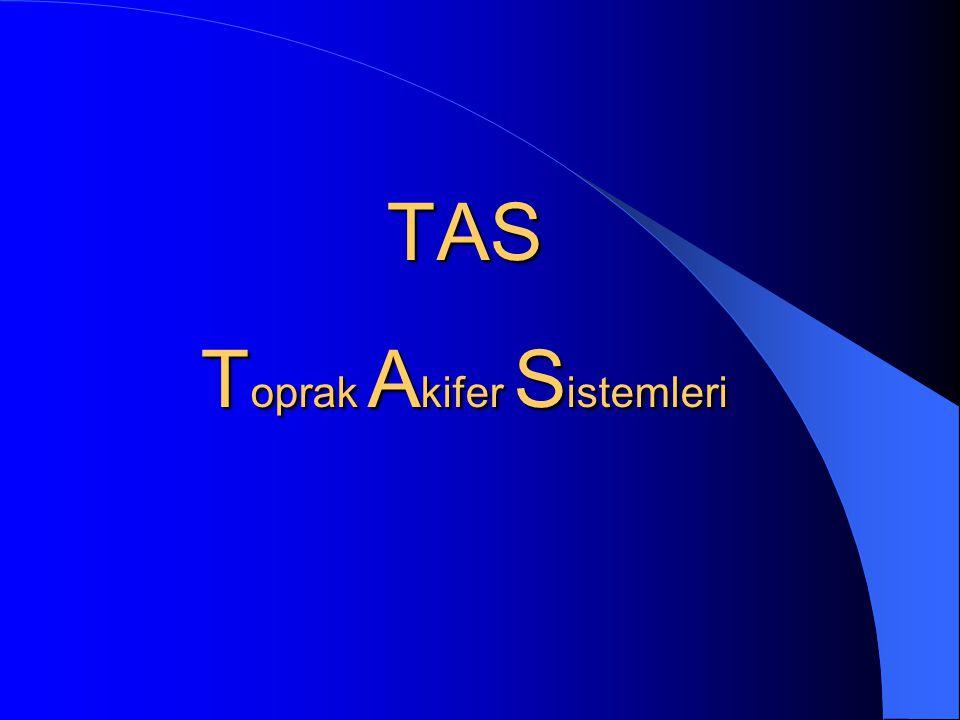 TAS Toprak Akifer Sistemleri