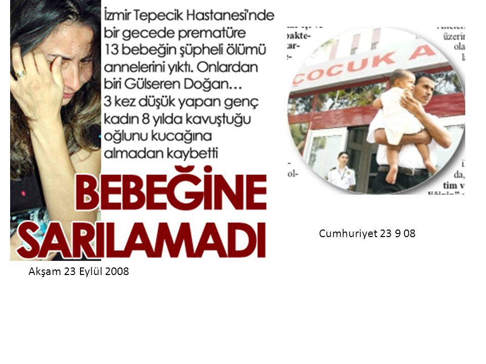 Cumhuriyet 23 9 08 Akşam 23 Eylül 2008