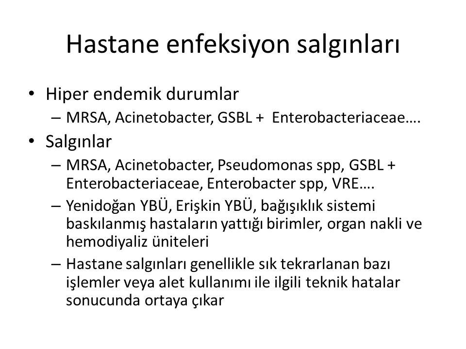 Hastane enfeksiyon salgınları