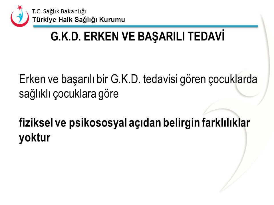 G.K.D. ERKEN VE BAŞARILI TEDAVİ
