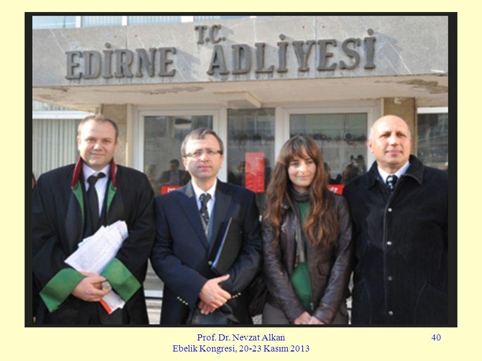Prof. Dr. Nevzat Alkan Ebelik Kongresi, 20-23 Kasım 2013