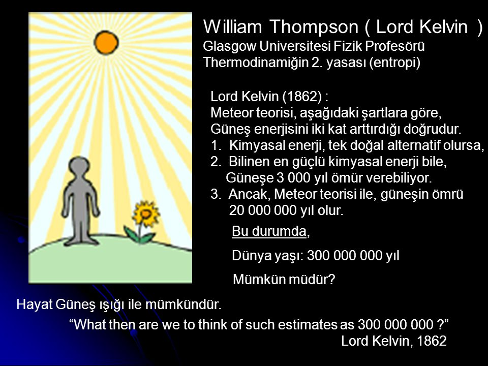 William Thompson ( Lord Kelvin )