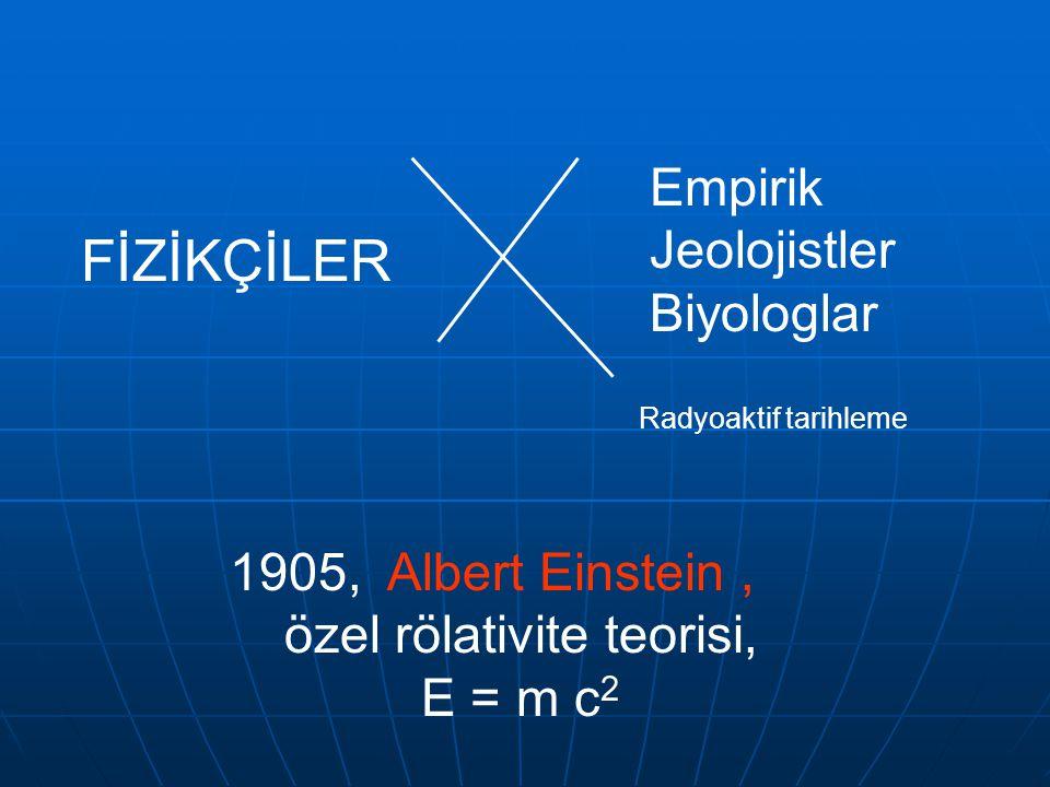 özel rölativite teorisi,