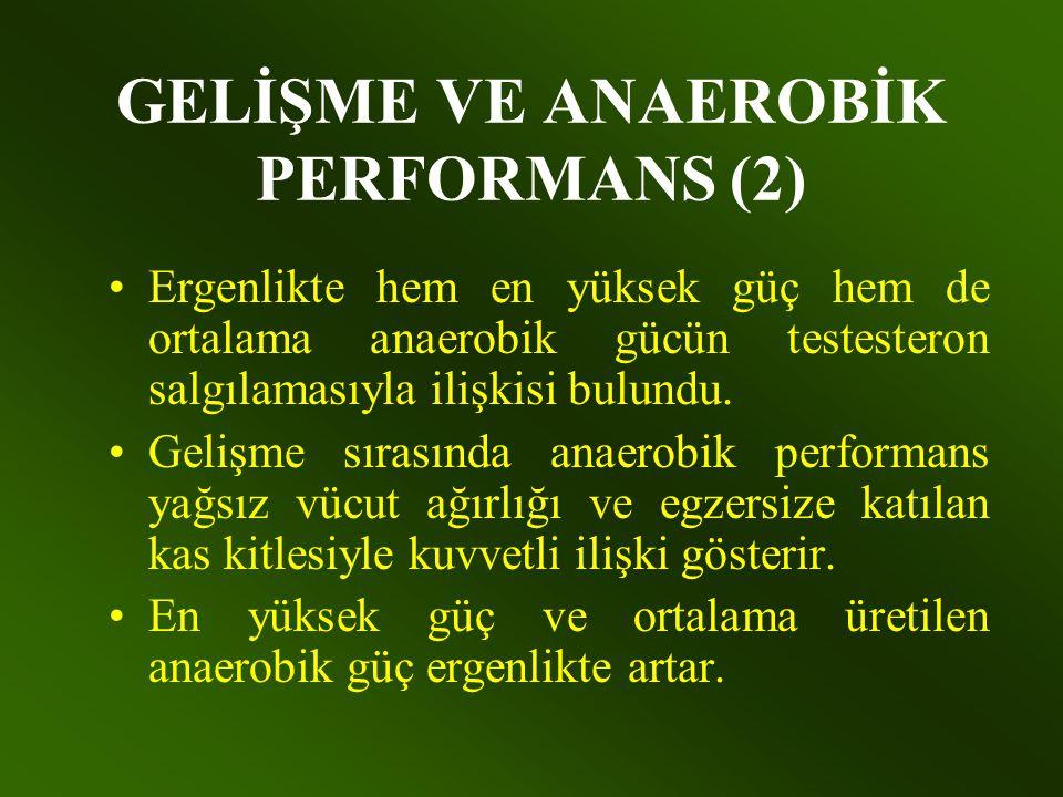 GELİŞME VE ANAEROBİK PERFORMANS (2)