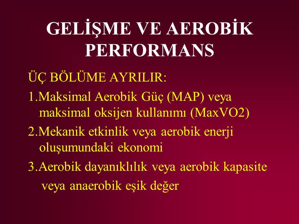 GELİŞME VE AEROBİK PERFORMANS