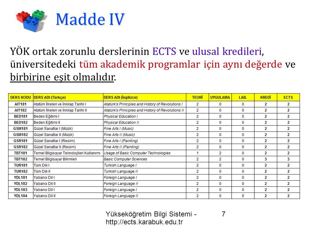 Madde IV