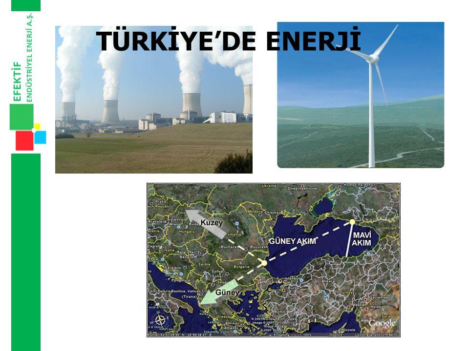 TÜRKİYE'DE ENERJİ