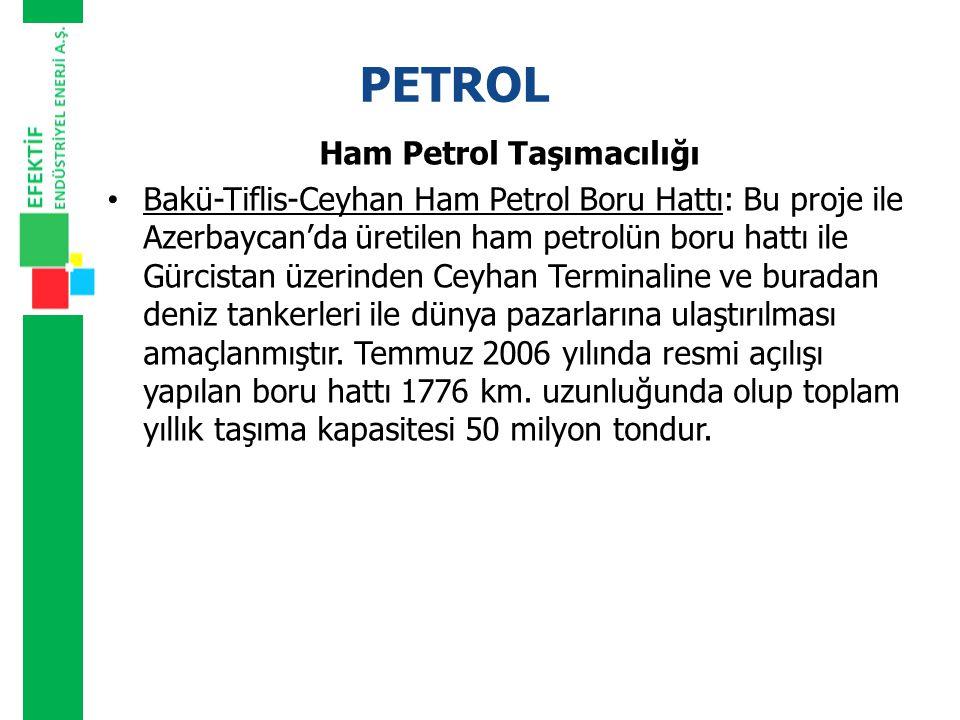 Ham Petrol Taşımacılığı
