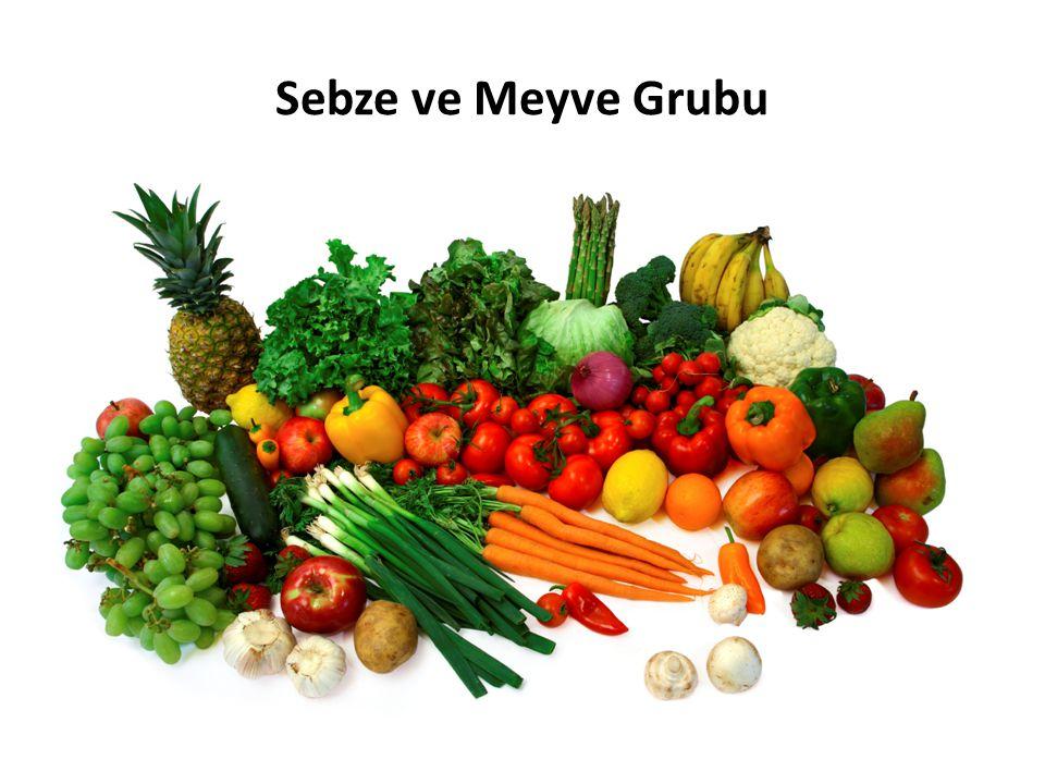 Sebze ve Meyve Grubu