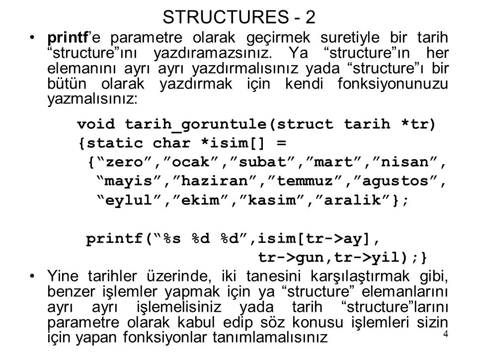 STRUCTURES - 2