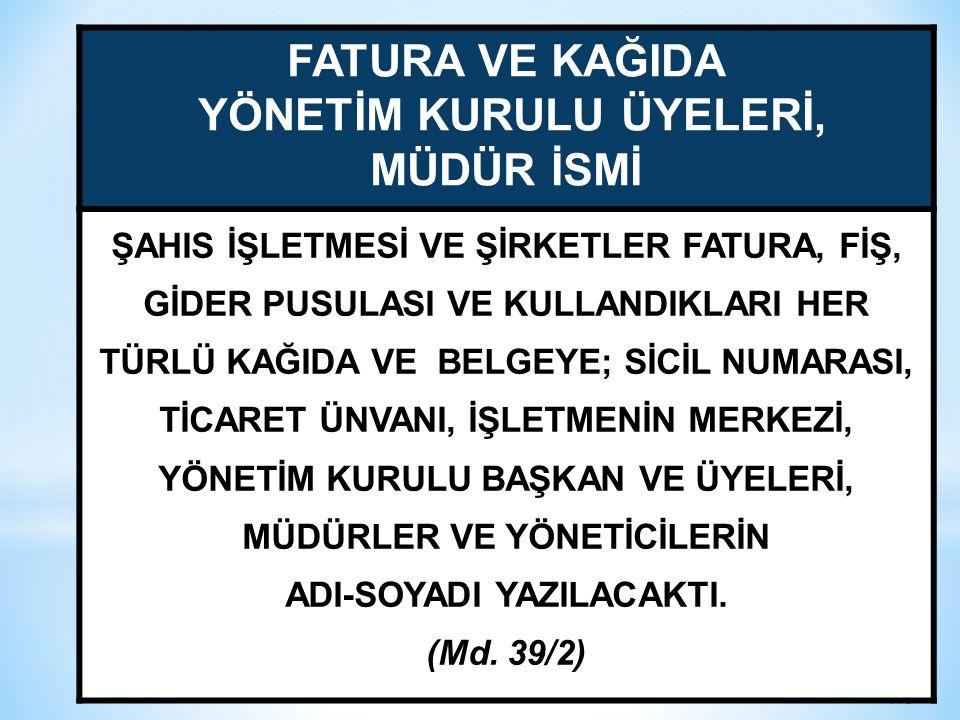 YÖNETİM KURULU ÜYELERİ, ADI-SOYADI YAZILACAKTI.