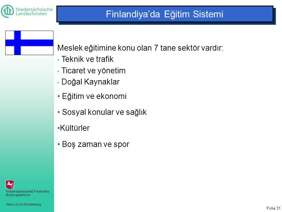 Finlandiya'da Eğitim Sistemi
