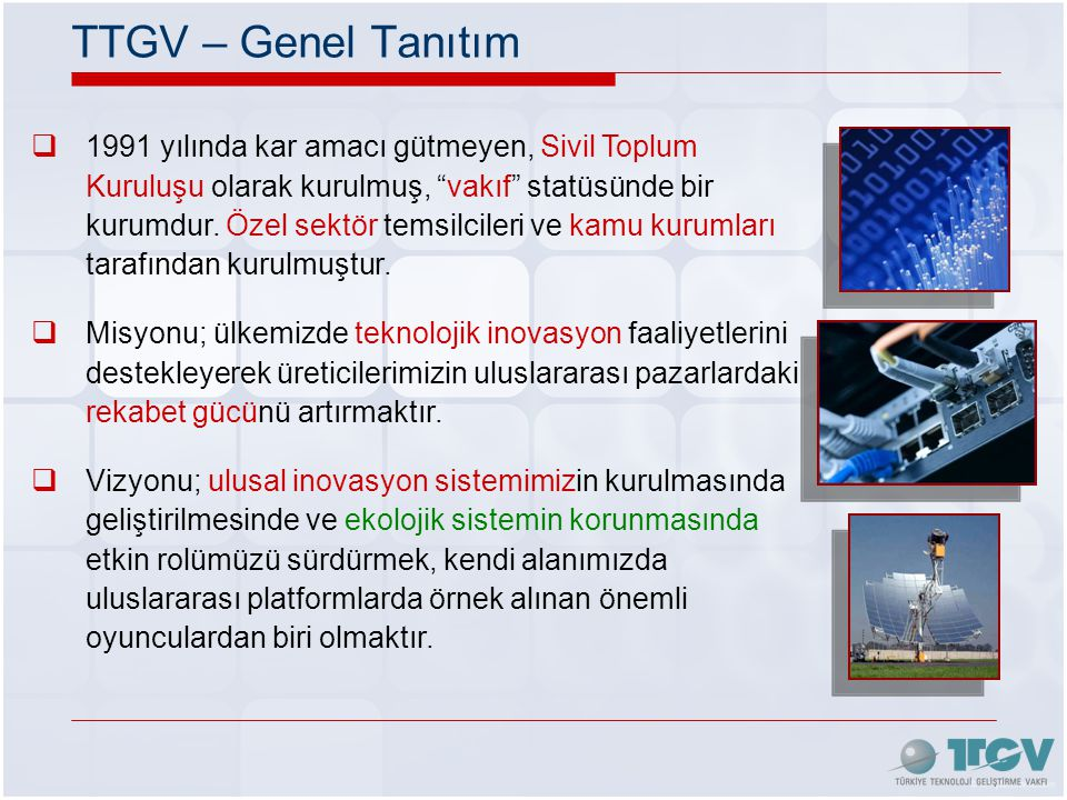 TTGV – Genel Tanıtım