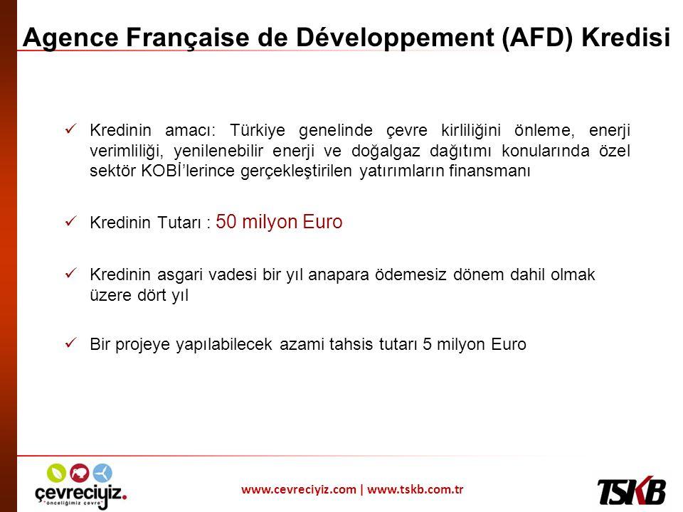 Agence Française de Développement (AFD) Kredisi