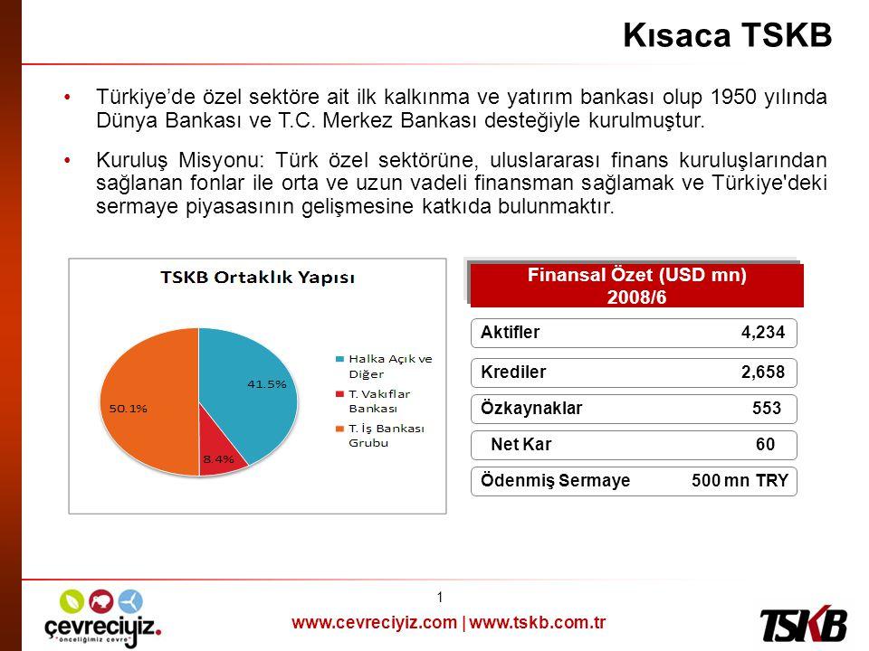 Finansal Özet (USD mn) 2008/6